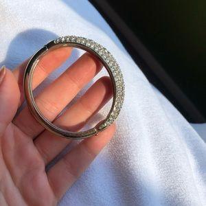 Express gold/diamond bracelet